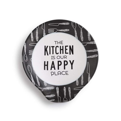 The Kitchen Is Our Happy Place Spoon Rest