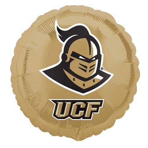 *UCF Knights Gold Round Mylar Balloon