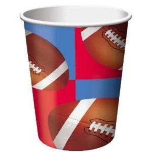 *All Star Football 9oz Cups 8ct