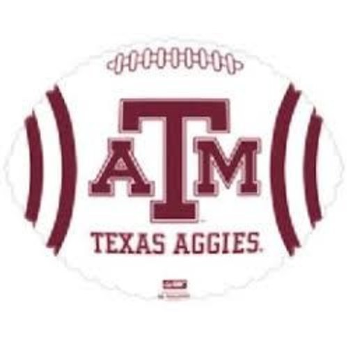 *Texas A & M Aggies Football Mylar Balloon