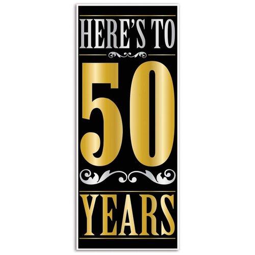 *Here's to 50 Years Door Cover