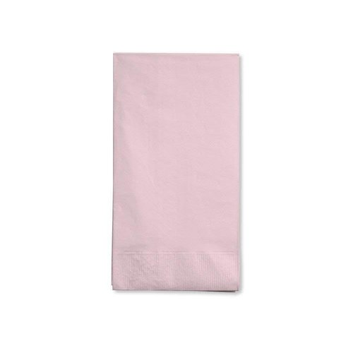 *Classic Pink 3ply Guest Napkins 16ct