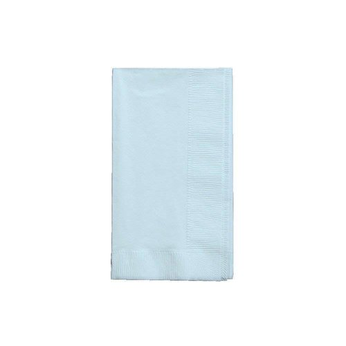 *Pastel Blue 3ply Guest Napkin 16ct