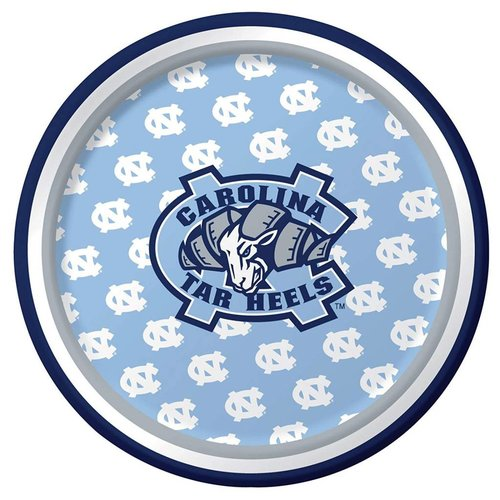 "*North Carolina Tar Heels 7"" Dessert Plates 8ct"