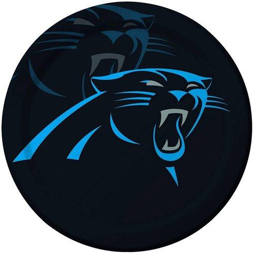 """*Carolina Panthers 9"""" Dinner Plates 8ct"""