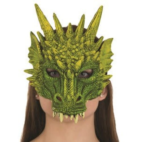 Jacobson Hat Company *Dragon Mask Green Rubber