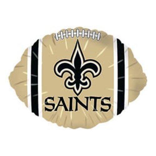 *New Orleans Saints Football Shape Balloon