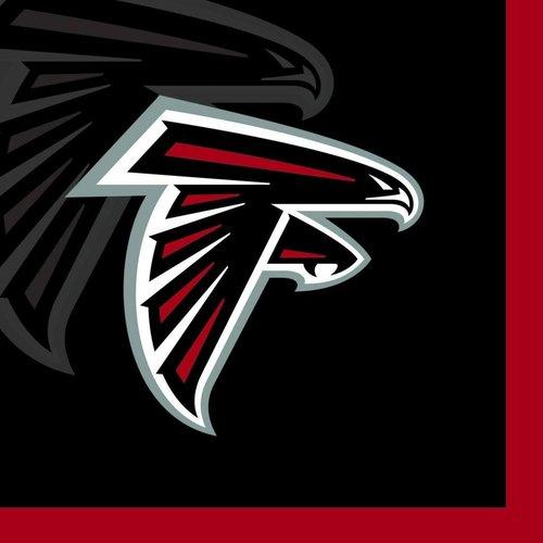*Atlanta Falcons Beverage Napkins 16ct