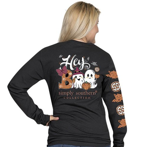 Long Sleeve BOO Black