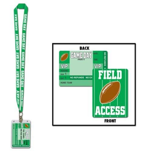 *Game Day Party Pass