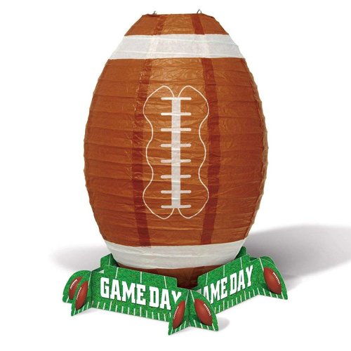 "*Football Game Day 11"" Lantern Centerpiece"