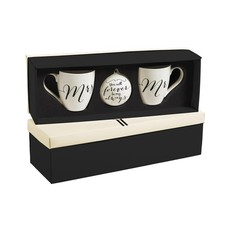 Mr & Mrs Wedding Coffee Mug Set