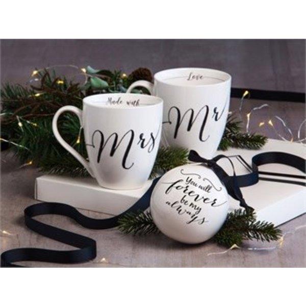 Mr Mrs Wedding Coffee Mug Set Enlarge Image