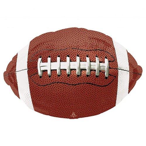 "*Football Shape Jumbo 31""x 20"" Balloon"