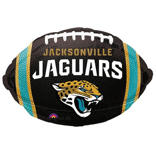 *Jacksonville Jaguars Football Shape Balloon