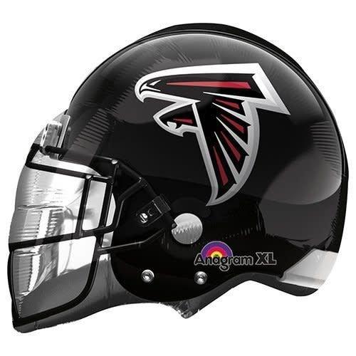 *Atlanta Falcons Football Helmet Shape Balloon