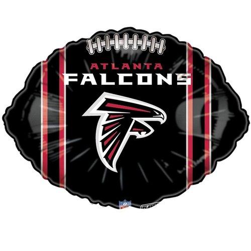 *Atlanta Falcons Football Shape Balloon