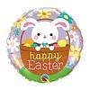 """*Easter Bunny in Basket 18"""" Mylar Balloon"""