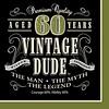 *Vintage Dude 60 Lunch Napkins 16ct