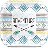 The Adventure Begins Boy 7in Plate