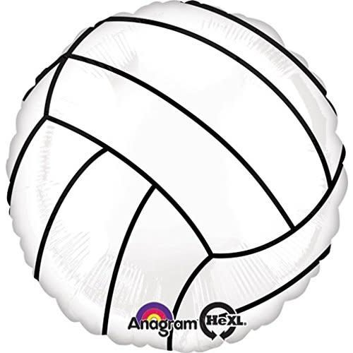 "*Volleyball 18"" Mylar Balloon Flat"