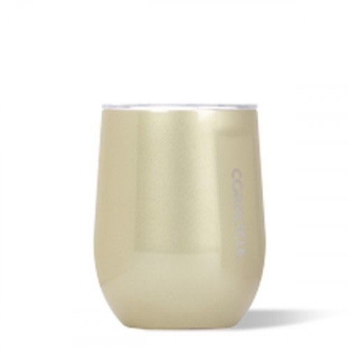 Corkcicle Glampagne Stemless Wine Glass