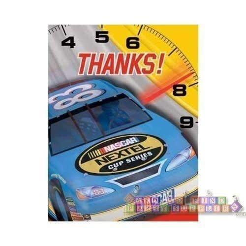 *NASCAR Thank You Notes 8ct