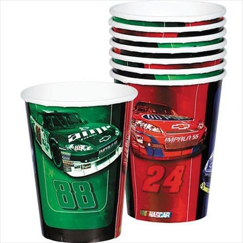 *Nascar 9oz Cups