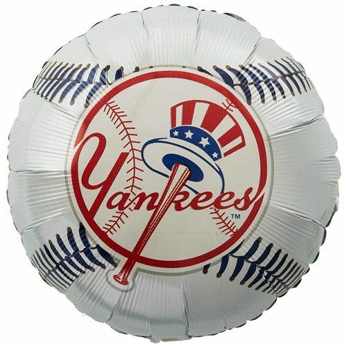 """*New York Yankees Baseball 18"""" Mylar Balloon"""