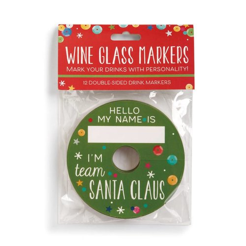Christmas Wine Glass Markers