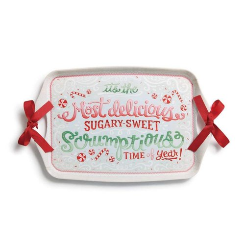 Sugary-Sweet Melamine Platter