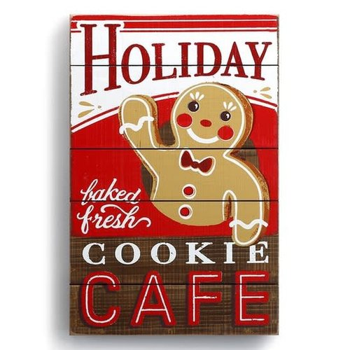 Holiday Cookie Cafe Wall Art
