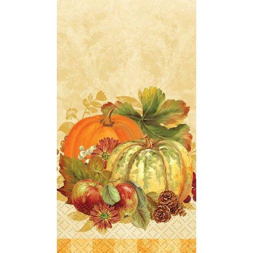 **Pumpkin Harvest Guest Towel