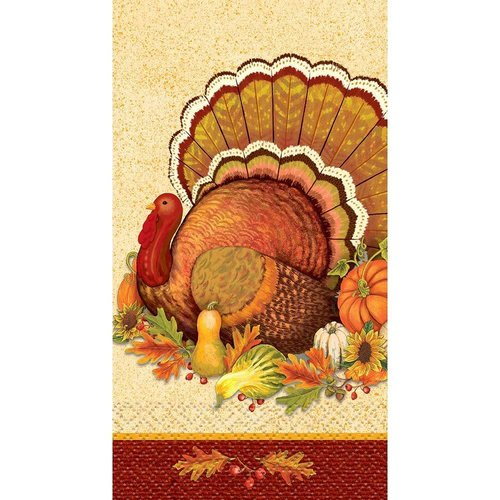 **Give Thanks Guest Towel 16ct