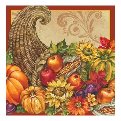 **Bountiful Blessings Lunch Napkin