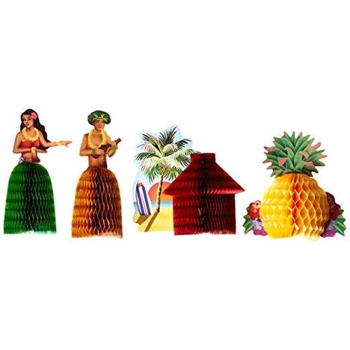 Luau Mini Centerpieces