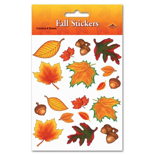***Fall Stickers 4 sheets