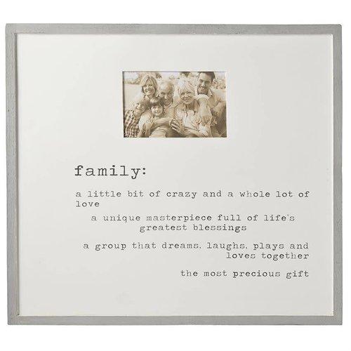 Family Definition Frame