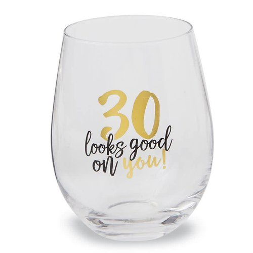 30 Looks Good on You Stemless Wine Glass