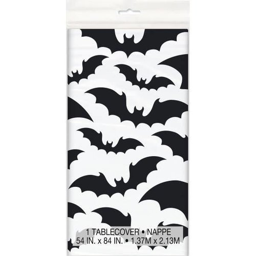 *Black Bats Halloween Tablecover