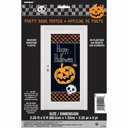 Happy Halloween Door Poster
