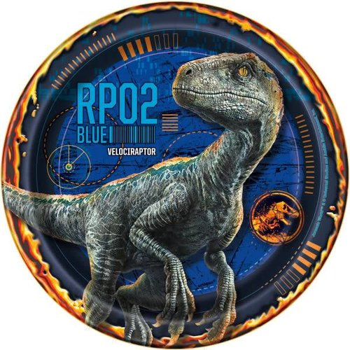 Jurassic World 2 7in Plate