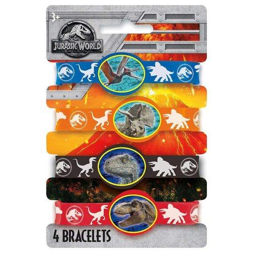 Jurassic World 2 Rubber Bracelets