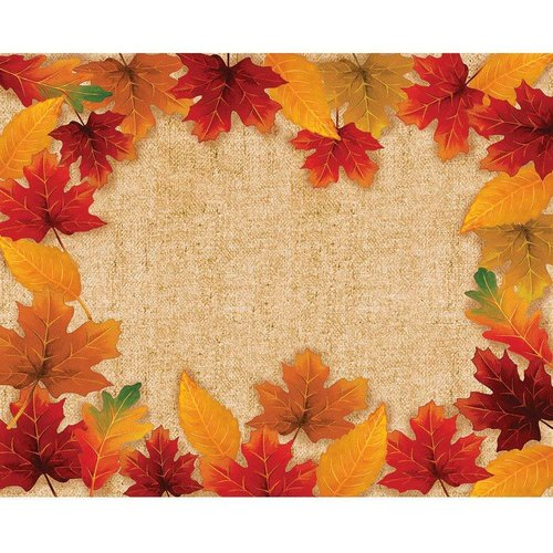Fall Leaves Paper Placemat