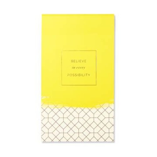 Believe in Every Possibilty List Pad
