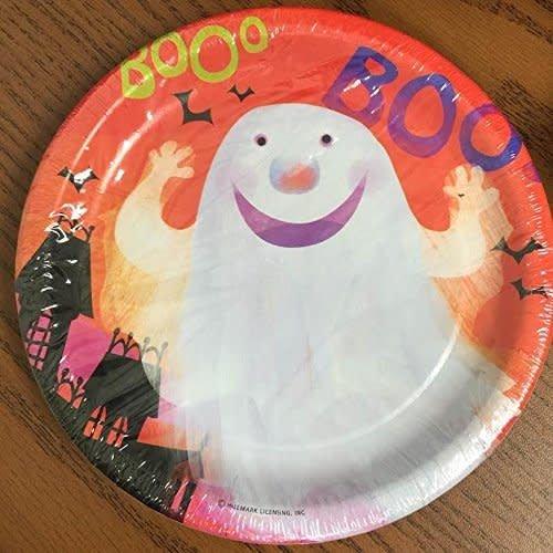 "*Friendly Fun Halloween 7"" Dessert Plates 8ct"