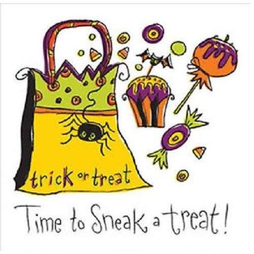 *Get Wicked Sneak A Treat Bev Napkins 18ct