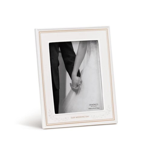 """Our Wedding Day 8""""x10"""" Frame"""