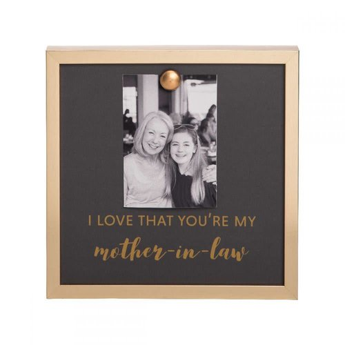 EverEllis Gold Magnet Mother In Law Photo Frame
