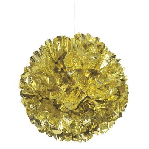 Gold Foil Puff Ball